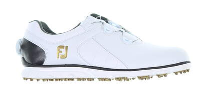 New Mens Golf Shoe Footjoy Pro SL BOA Medium 11.5 White 53596 MSRP $190