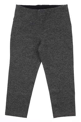 New Womens Footjoy Capri Leggings Small S Charcoal MSRP $70 27203