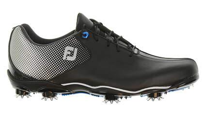 New Mens Golf Shoe Footjoy DNA Helix Medium 9.5 Black 53318 MSRP $210