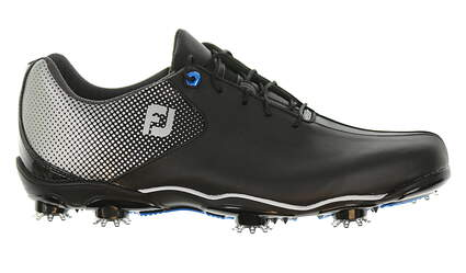 New Mens Golf Shoe Footjoy DNA Helix Extra Wide 9 Black 53318 MSRP $210