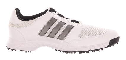 New Mens Golf Shoe Adidas Tech Response 4.0 Medium 9.5 White 816570 MSRP $60