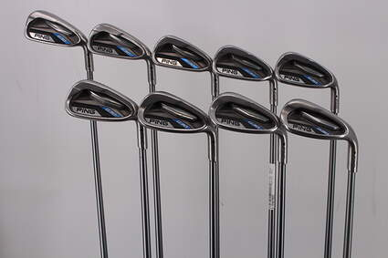 Ping G30 Iron Set 4-PW GW LW Ping TFC 419i Graphite Regular Right Handed Black Dot 38.25in