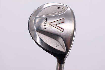 TaylorMade V Steel Fairway Wood 7 Wood 7W 21° TM M.A.S.2 Graphite Ladies Right Handed 41.0in