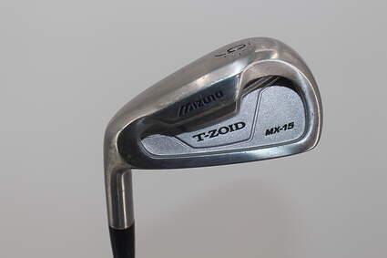 Mizuno MX 15 Single Iron 6 Iron True Temper Dynamic Gold S300 Steel Stiff Left Handed 38.0in