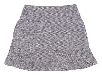 New Womens Zero Restriction Mae Skort Small S Gray 0433L MSRP $98