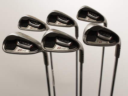 Ping G20 Iron Set 5-PW Ping CFS Steel Stiff Right Handed Black Dot 38.0in