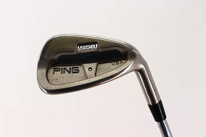 Ping S58 Single Iron 8 Iron Ping AWT Steel Senior Right Handed Orange Dot 35.5in