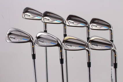 Ping 2015 i Iron Set 4-PW GW True Temper XP 95 R300 Steel Regular Right Handed Yellow Dot 38.25in