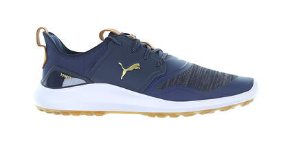 New Mens Golf Shoe Puma IGNITE NXT Lace Medium 11 Peacoat/Gold 192225 MSRP $120