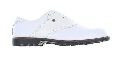 New Mens Golf Shoe Footjoy Country Club Professionals Medium 13 White MSRP $180