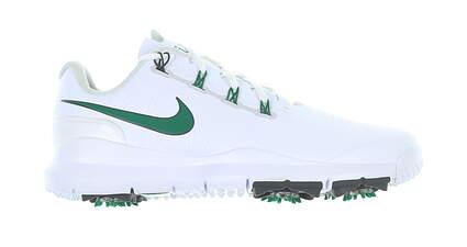 New Mens Golf Shoe Nike TW 14 Medium 13 White/Green 599416 102 MSRP $220