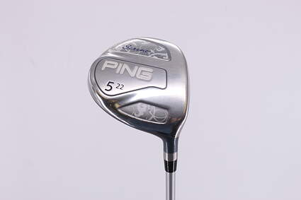 Ping Serene Fairway Wood 5 Wood 5W 22° Ping ULT 210 Ladies Lite Graphite Ladies Right Handed 41.75in