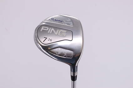 Ping Serene Fairway Wood 7 Wood 7W 26° Ping ULT 210 Ladies Lite Graphite Ladies Right Handed 41.25in