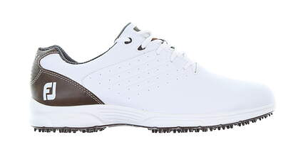 New Mens Golf Shoe Footjoy FJ Arc SL Medium 11.5 White 59706 MSRP $100