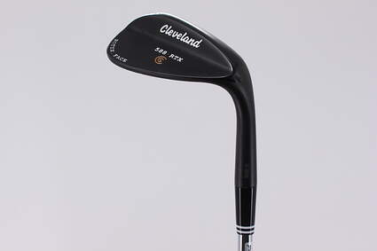 Mint Cleveland 588 RTX Black Pearl Wedge Lob LW 58° 12 Deg Bounce True Temper Dynamic Gold Steel Wedge Flex Right Handed 35.5in