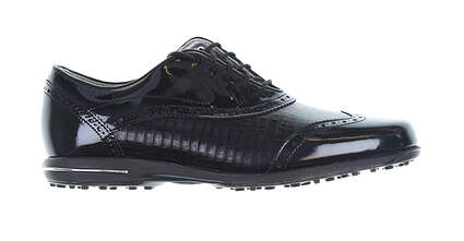 New Womens Golf Shoe Footjoy Tailored Collection Medium 9.5 Black MSRP $150