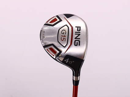 Ping G15 Fairway Wood 4 Wood 4W 17° Ping TFC 149F Graphite Regular Right Handed 42.75in