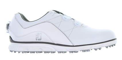 New Mens Golf Shoe Footjoy Pro SL BOA 8 Wide White 53201