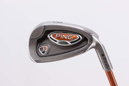 Ping i10 Single Iron 8 Iron Ping TFC 129I Graphite Regular Right Handed Black Dot 36.75in