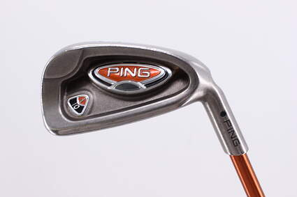 Ping i10 Single Iron 6 Iron Ping TFC 129I Graphite Regular Right Handed Black Dot 37.75in