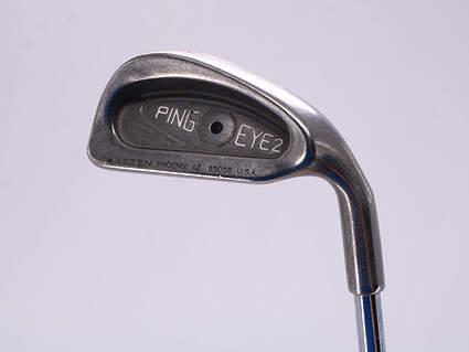 Ping Eye 2 Single Iron 4 Iron Ping ZZ Lite Steel Stiff Right Handed Black Dot 38.5in