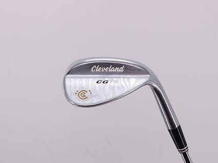 Cleveland CG15 Satin Chrome Wedge Gap GW 52° 10 Deg Bounce Cleveland Action Ultralite W Steel Uniflex Right Handed 35.5in