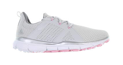 New Womens Golf Shoe Adidas ClimaCool Cage Medium 8 Gray/Pink MSRP $90