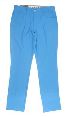New Mens Puma 5 Pocket Pants 32x32 Blue MSRP $85 577975