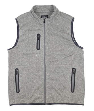 New Mens Straight Down Monte Golf Vest X-Large XL Gray 60454 MSRP $104