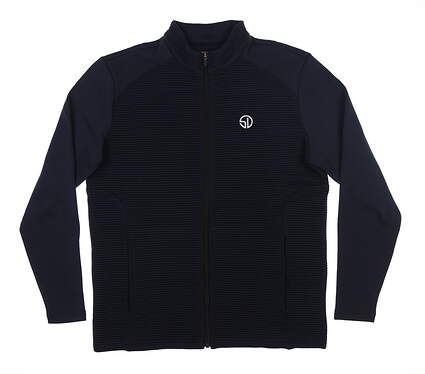 New Mens Straight Down Golf Jacket Medium M Navy Blue MSRP $98