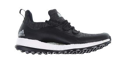 New Womens Golf Shoe Adidas Pureboost Golf Medium 9.5 Black BD7195 MSRP $130