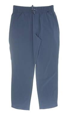 New Womens Puma Lightweight Pants Small S Dark Denim MSRP $75 595861