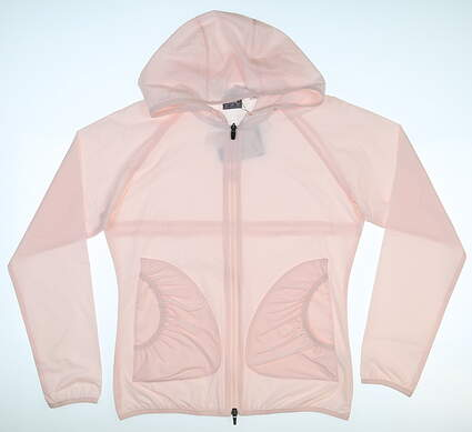 New Womens Puma Zephyr Jacket Small S Rosewater MSRP $75 577942 05