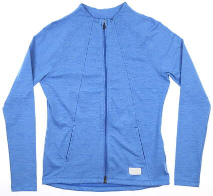 New Womens Puma Warm Up Jacket Small S Palace Blue MSRP $80 595850 05