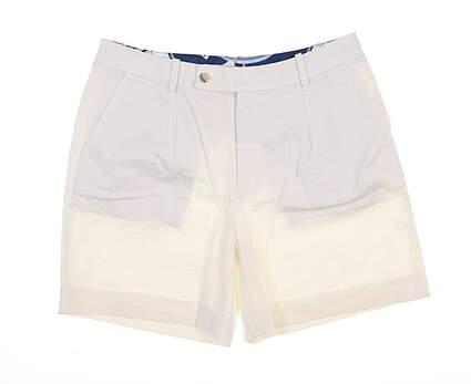 New Womens Peter Millar Shorts 0 White LS19B01 MSRP $99