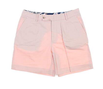 New Womens Peter Millar Shorts 4 Coral LS19B01 MSRP $99