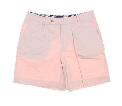 New Womens Peter Millar Shorts 0 Coral LS19B01 MSRP $99