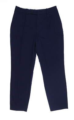New Womens Peter Millar Pants 4 Navy Blue LS19B02 MSRP $149
