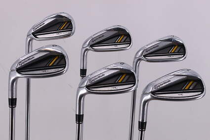 TaylorMade Rocketbladez Iron Set 5-PW TM RocketFuel 85 Steel Steel Stiff Left Handed 38.5in
