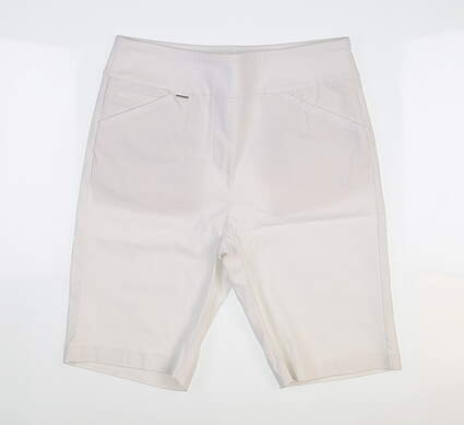 New Womens EP Pro Pull On Compression Shorts Small S White NS8001X MSRP $85