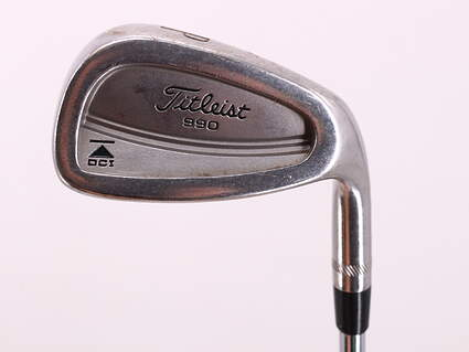 Titleist DCI 990 Single Iron Pitching Wedge PW True Temper Dynamic Gold Steel Stiff Right Handed 36.0in