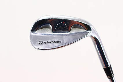 TaylorMade Rac Chrome Wedge Sand SW 56° 12 Deg Bounce Stock Steel Shaft Steel Wedge Flex Right Handed 35.5in