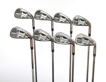 Callaway Rogue Pro Iron Set 3-PW KBS Tour 130 Steel X-Stiff Right Handed 38.75in