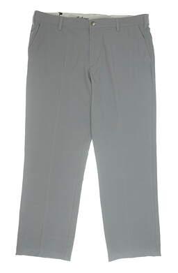 New Mens Adidas Golf Pants 42x30 Gray MSRP $80 BC3850