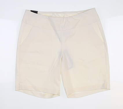 New Womens Under Armour Golf Shorts Large L White MSRP $75