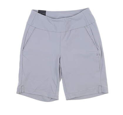 New Womens Under Armour Golf Shorts X-Small XS Gray MSRP $75