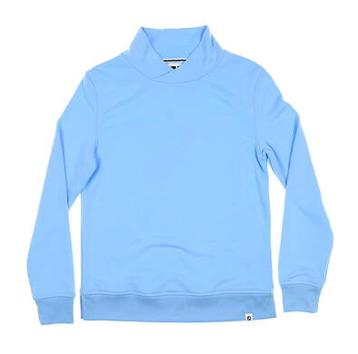 New Womens Footjoy Crossover Pullover X-Small XS Blue 27557 MSRP $125