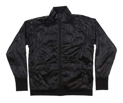 New Womens Footjoy Full Zip Jacket Medium M Black 27587 MSRP $135