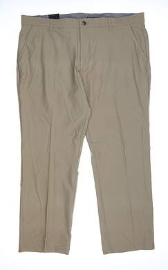 New Mens Adidas Golf Pants 40x30 Khaki DZ5702 MSRP $80