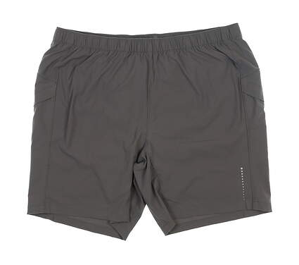 New Mens Peter Millar Action Training Shorts X-Large XL Gray MS19EB28 MSRP $75